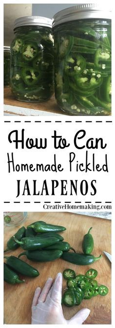 Easy recipe for homemade pickled jalapenos (cowboy candy). You can store these in the refrigerator or can them for long term storage. How to Can Pickled Jalapenos Canning Pickles, Canning Tips, Home Canning, Canning Recipes, Canned Jalapenos, Pickling Jalapenos, Recipe For Pickled Jalapenos, Pickeled Jalapenos, Recipes With Jalapenos