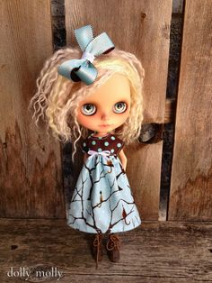 Hey, I found this really awesome Etsy listing at https://www.etsy.com/listing/21371213/dolly-molly-kitty-blue-brown-snowflake