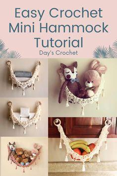 Crochet Home Decor, Crochet Crafts, Yarn Crafts, Crochet Toys, Crochet Baby, Knit Crochet, Diy Crafts, Crochet Summer, Easy Crochet
