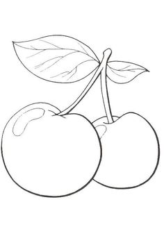 Coloring pages fruit and vegetables 24
