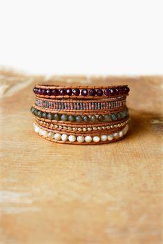 My lovely WR∆P VINT∆GE bracelet is unique ! <3 hippie boho fashion style accessory