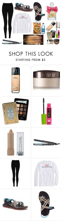 """""""christmas eve with the family!:))"""" by kyleemorrison ❤ liked on Polyvore featuring Maybelline, Laura Mercier, Hard Candy, Bio Ionic, M&S Collection, Vineyard Vines, Chaco and Juicy Couture"""