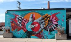 The creative spirit is alive and well in the Motor City. 'Murals In The Market' happened last fall where 45 artists applied their skills to the walls of Detroit's historic Eastern Market area. Check out the breathtaking results...