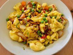 Pasta Salad, Ethnic Recipes, Food, Style, Crab Pasta Salad, Essen, Noodle Salads, Yemek, Meals