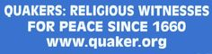 A thorough description of Quaker beliefs...maybe I'll finally  understand my roommate now!
