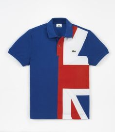 Croco flag Polo shirts is a limited edition capsule collection with the emblematic crocodile logo has been converted into the flag for 16 different nations