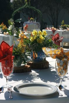 Morning Wedding.. Vintage wedding, mis-match china, vintage wedding rentals