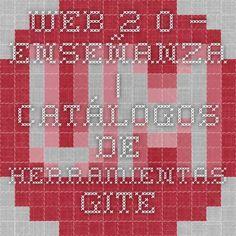 Web 2.0 – enseñanza | CATÁLOGOS DE HERRAMIENTAS - GITE