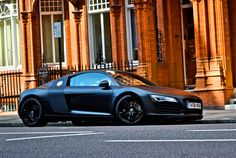 black on black on black. R8. my next ride has gotta be an audi<3 . ughh drool