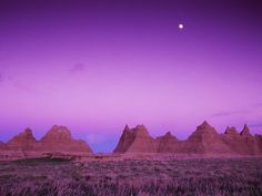 Badlands National Park - I'm not sure if it was a National Park when I was there.