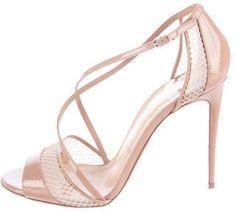 Christian Louboutin Patent Slikova Sandals