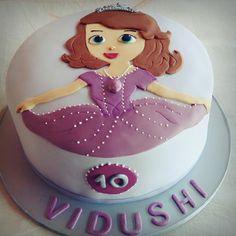 Sofia princess cake, birthdaycake 10th birthday, bakesbyd
