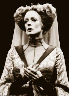 """Maggie Smith, """"Richard III"""", Stratford, Ontario, 1977."""