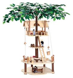 Tumble Treehouse set