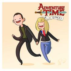 Dr. Who no estilo de A Hora da Aventura » MONSTERBOX