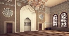 El Rayan Mosque Interior Design on Behance