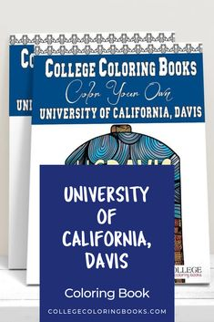 Join your fellow alumni on a stroll down memory lane or learn the landmarks and the lingo before your first semester. The UC Davis College Coloring Book celebrates everything about your amazing and unique college experience. #UCdavis #aggies #ucdavisaggies #collegecoloring #adultcoloring #coloringforstudents #collegegift #collegegrad #collegegraduation #graduationgift #gradgift