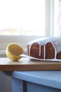 Den beste sitronkaken - Marias Salt & Søtt Baking Parchment, Frisk, Powdered Sugar, Melted Butter, Oven, Food And Drink, Lemon, Desserts, Gluten