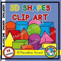 This is a vibrant set of 28 (14 color+14 black line) 3D shapes/ solid shapes. The images are crispy clear (300dpi) and come in png format (transparent background)!   PERFECT FOR YOUR SOLID SHAPES UNIT!  In this set you will find the images shown in the preview + black and white images: 2 spheres 2 pyramids (AS SEEN FROM DIFFERENT ANGLES) cone cube 3 DIFFERENT cylinders 2 DIFFERENT rectangular prisms triangular prism pentagonal prism hexagonal prism