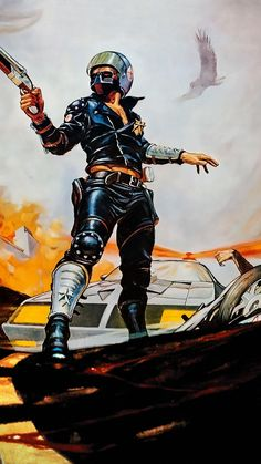 Mad Max Poster, Mad Max Mel Gibson, Mad Max Road, Post Apocalyptic Art, Werewolf Art, Movie Poster Art, Film Posters, Keys Art, Science Fiction Art