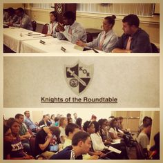 First open meeting of the Knights of the Roundtable #lynning #lynn4life