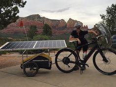 Cross Country Solar Electric Bike Adventure [VIDEO] | Electric Bike Report | Electric Bike, Ebikes, Electric Bicycles, E Bike, Reviews
