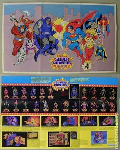 Super Powers. Still to this day some of the best looking action figures. Classic stuff!
