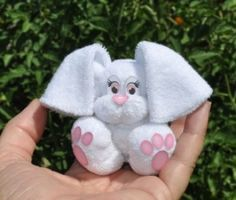 Baby Washcloth Bunny Instructional Video | YouCanMakeThis.com