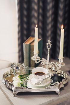 Servește-ți musafirii cu o cafea aromată în ceștile din porțelan englezesc! #cesti de cafea #portelan englezesc Candles, Pillar Candles, Lights, Candle