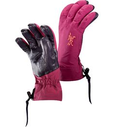 Arc'teryx – Beta AR Mitts £170  The only ski mitts she will ever need. Anatomically designed, waterproof gloves with fleece liner and easy-pull wrist cinch system.  http://www.arcteryx.com/product.aspx?language=EN&gender=womens&category=Accessories&subcat=Gloves&model=Beta-AR-Glove-W