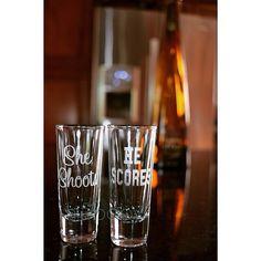 shot glasses/ etched shot glasses/ etched by Hi5babyHandmadeGoods