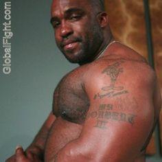 black strong musclemen gallery