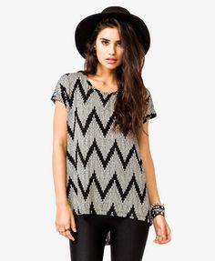 High-Low Zigzag Top $13.80 (Forever 21)