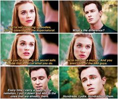 Teen Wolf season 5 - Lydia and Parrish