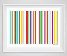 custom barcode custom print custom poster custom sign gift for