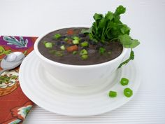 I learned to love authentic black bean soup in a Cuban cafe on West street. The deep, dark flavor was indescribably delicious. They knew how to prepare old Paleo Chef, Paleo Soup, Cuban Cafe, Nightshade Free Recipes, Cuban Black Beans, Sweet Potato Chili, Black Bean Soup, Fava Beans, Comida Latina