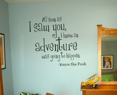 Winnie The Pooh Wall Decal