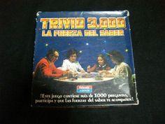 Juego De Mesa Trivio 3000 - La Fuerza Del Saber Trivial - Buen Estado
