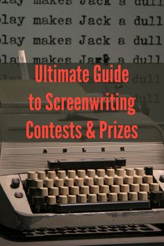 Learn everything about screenwriting contests you need to know—and the prizes… Screenwriting Contests, Camera Techniques, Improve Your Handwriting, Creative Writing Tips, Digital Film, Script Writing, Film Studies, Journal Pages, Writing Inspiration