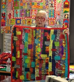 freddy moran collage quilt | ... is showing one of her new works inspired by quilts in the book below