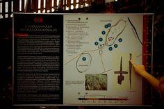 Rikalan muinaispolku on mukava päiväretkikohde, muinaispolulla voi ammentaa tietoutta historian janoonsa  http://www.naejakoe.fi/muinaisjaannokset/rikalan-museomaki-ja-muinaisjaannealue/