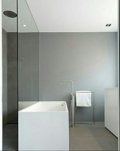Vola FS1 floor-standing bath mixer with hand-shower in brushed stainless steel # Vola bathroom taps available via inoxtaps.com