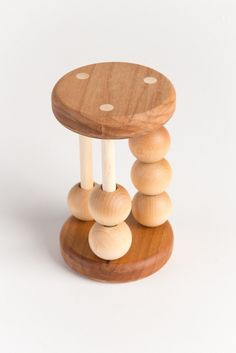 Organic Counting Rattle Alder by asummerafternoon on Etsy https://www.etsy.com/listing/110688285/organic-counting-rattle-alder