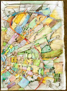 Urban Planning, Painting, Art, Art Background, Painting Art, Urban Design Plan, Kunst, Gcse Art, Paintings