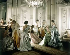 Charles James Gowns ~Cecil Beaton for Vogue, 1948