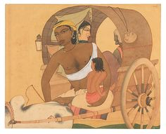 Y. G. Srimati | The Bullock Cart | India (Chennai) | The Met