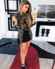 Simple Summer to Spring Outfits to Try in 2019 – Prettyinso Club Outfits For Women, Mode Outfits, Skirt Outfits, Fall Outfits, Summer Outfits, Clothes For Women, Cute Casual Outfits, Look Fashion, Girl Fashion