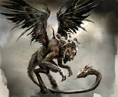 The Greek Chimaera is a hybrid of Lion, snake, and goat.