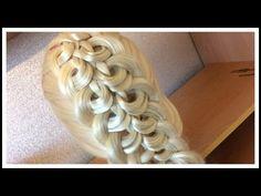 PULL THRU KNOTT BRAID Hairstyle / Hair Tutorial / HairGlamour - YouTube