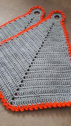 Crochet Kitchen, Crochet Home, Love Crochet, Crochet Granny, Diy Crochet, Crochet Basket Tutorial, Easy Crochet Patterns, Crochet Clothes, Knitting